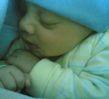 My Son Ayan (the day he born) shoot with my cell phone by khawer