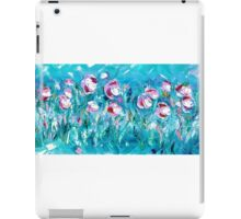 WATER FLOWERS FOR NEIL,  by Janai-Ami iPad Case/Skin