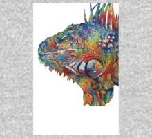 Colorful Iguana Art - One Cool Dude - Sharon Cummings Kids Clothes