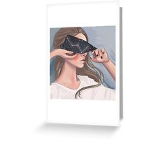 Inside her Reflection Greeting Card
