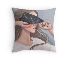 Inside her Reflection Throw Pillow