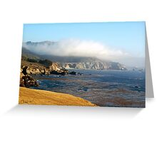 Coastal Gold Greeting Card