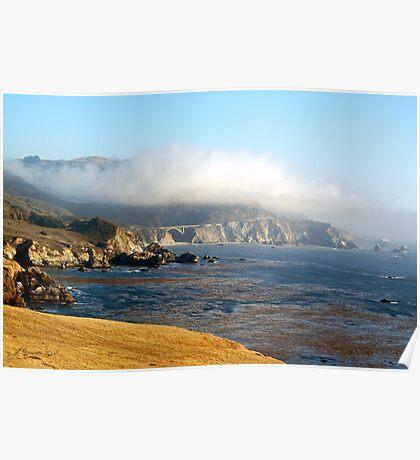 Coastal Gold Poster