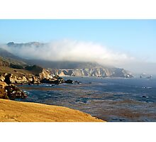 Coastal Gold Photographic Print