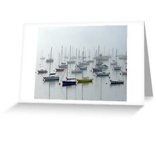 Misty Yachts Greeting Card