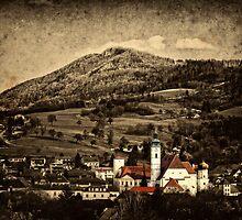 My little town by Kurt  Tutschek