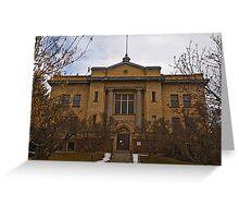 Granite County Montana Court House Greeting Card