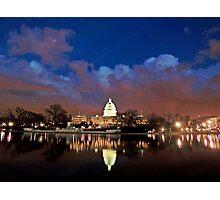 Washington, D.C., Nightscape Photographic Print