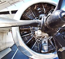 "Prop Engine on a ""Stoof"" WWII Navy Bomber by Cody McKibben"