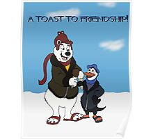 A Toast To Friendship! Poster