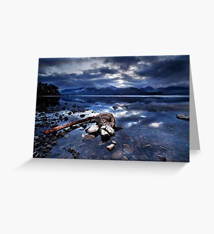 Derwent Water, Cumbria Greeting Card