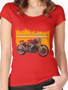 agusta 500/3 Women's Fitted Scoop T-Shirt