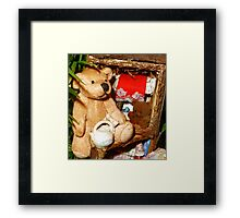 Teddies in a Tree House Framed Print