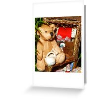 Teddies in a Tree House Greeting Card