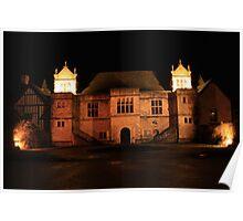Archbishop's Palace at Night Poster