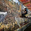 Murals at the Thai Royal Palace by Cody McKibben