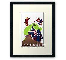 Assemble Framed Print