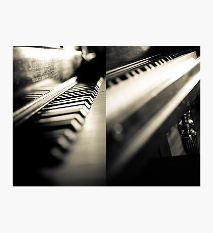The piano Photographic Print
