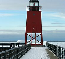 Charlevoix Lighthouse by Jim Nielsen