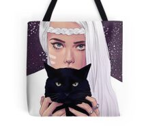 She had Stars in Her Eyes Tote Bag