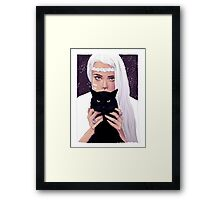 She had Stars in Her Eyes Framed Print