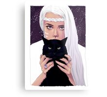 She had Stars in Her Eyes Metal Print