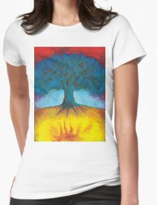 I Have In Me Fire  Womens Fitted T-Shirt