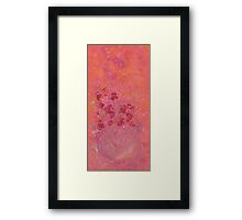 FOREVER IN MY HEART by Janai-Ami Framed Print
