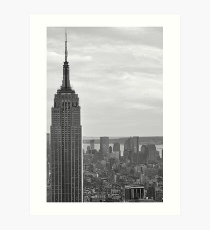 Empire State Building, Manhattan, NYC Art Print