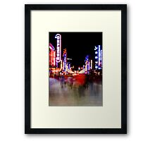 Redlight District  Framed Print