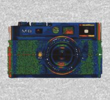 Leica M8 on acid Kids Tee