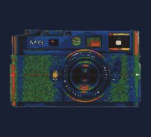 Leica M8 on acid One Piece - Long Sleeve