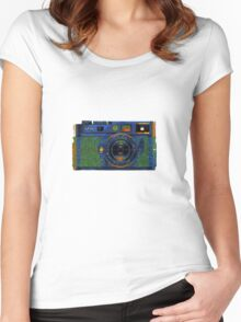 Leica M8 on acid Women's Fitted Scoop T-Shirt