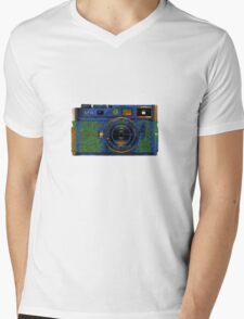 Leica M8 on acid Mens V-Neck T-Shirt