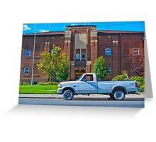 Broadwater County Montana Court House Greeting Card