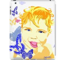 Blue-Eyed Baby iPad Case/Skin