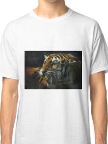 Snarling Tiger  Classic T-Shirt