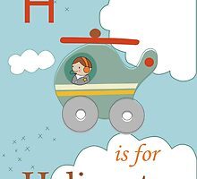 H is for Helicopter by KathrinLegg