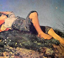 Young Shepard by Franz von Lenbach, 1860 by ©The Creative  Minds