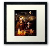 Once Upon a Golden Dream Framed Print