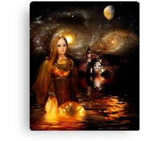 Once Upon a Golden Dream Canvas Print