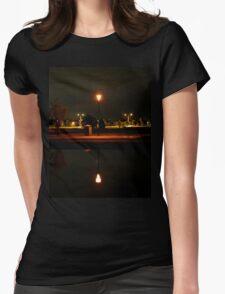 Up And Down Womens Fitted T-Shirt