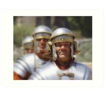 Gladiators in Jordan Art Print