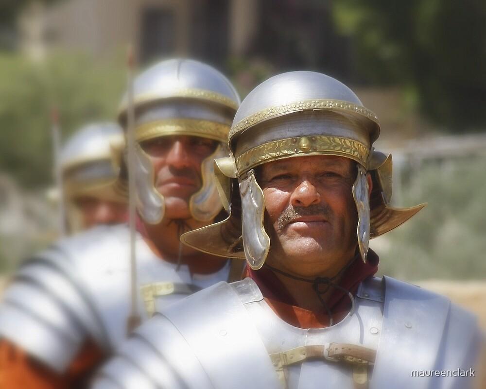 Gladiators in Jordan by Maureen Clark