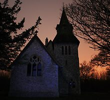 St Margaret's By Night by Dave Godden