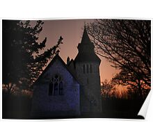St Margaret's By Night Poster