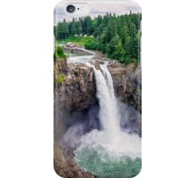 Snoqualmie Falls, Washington iPhone Case/Skin