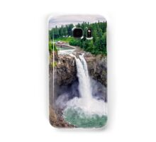 Snoqualmie Falls, Washington Samsung Galaxy Case/Skin