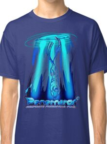 Freediving with Penetrator fins Classic T-Shirt
