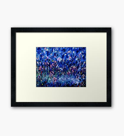 THE ELEMENTS OF PARADISE - A NEW PERSPECTIVE by Janai-Ami Framed Print